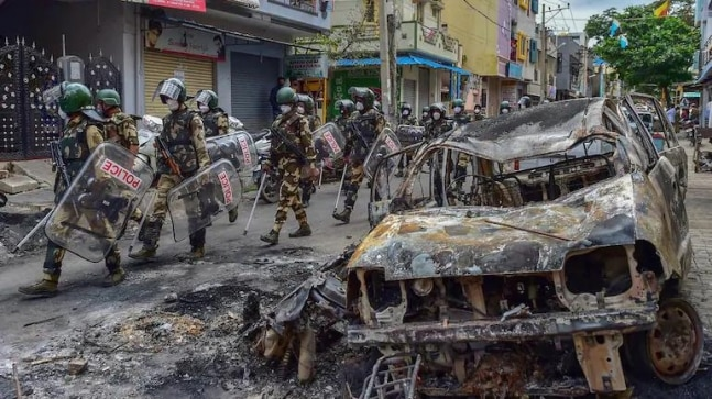 Bengaluru riots: Call records reveal Congress