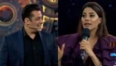 Bigg Boss 14 Grand Premiere: BB 14 contestant Nikki Tamboli flirts with Salman Khan