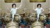 Amazing video of 5-year-old girl playing drums goes viral. Unreal, says Twitter