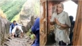 68-year-old woman climbs Maharashtra's Harihar Fort in viral video. Twitter is inspired