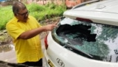 TDP spokesperson K Pattabhi's car vandalised by unknown miscreants