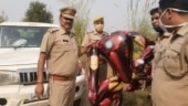 Iron Man balloon sparks fears of alien invasion in Uttar Pradesh town
