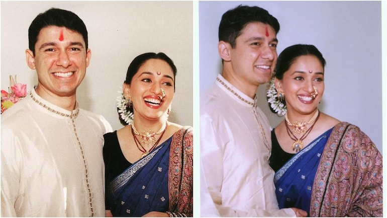 Madhuri Dixit and Shriram Nene are made for each other as they celebrate  their 21st anniversary - Movies News
