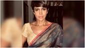 Mandira Bedi stuns in floral print saree in new Instagram post. See pic