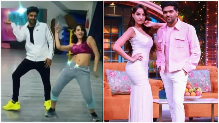 Nora Fatehi dances to Nach Meri Rani with Guru Randhawa in new Instagram post. Viral video - Movies News