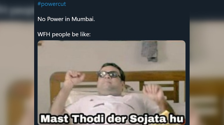 Mumbai Power Outage Gets Solid Memes On Twitter From Mumbaikars Best Ones Here Trending News News