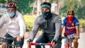 Ranbir Kapoor goes cycling with his gang on Mumbai streets. Watch viral video