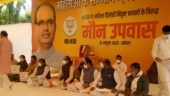 MP CM Shivraj Singh Chouhan starts 'maun vrat' over Kamal Nath's remark on female BJP Minister