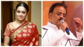 Shobana remembers SPB in an emotional note: It is difficult to come to terms with his loss