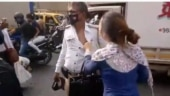 Mumbai woman slaps traffic cop, accuses him of abusing her