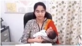 Uttar Pradesh IAS officer resumes work after delivery with newborn baby in viral video