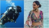 Taapsee Pannu can't help but face camera even when scuba diving: Kindly notice the actor in me