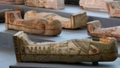 Treasure trove of over 100 sealed wooden coffins found in Egypt
