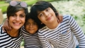 Mandira Bedi twins with Vir and Tara during staycation in adorable Instagram pics