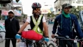 Assam journalist embarks on 1000-km bicycle ride to spread awareness about security of scribes