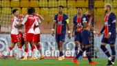 Kylian Mbappe scores brace on PSG return, still ends up on losing side as Monaco stun Ligue 1 leaders