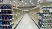 Panic buying of toilet paper in US amid Covid-19 surge