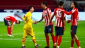 Atletico Madrid beat Barcelona in La Liga after 10 years, Real Madrid draw at Villarreal