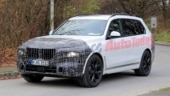 2022 BMW X7 facelift spied revealing major updates to the front end