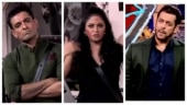 Kavita Kaushik rants against Eijaz Khan in Bigg Boss 14. Angry Salman Khan walks off