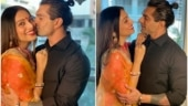 Bipasha Basu and Karan Singh Grover's Karwa Chauth pics are all about their monkey love