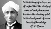 CV Raman's death anniversary: Top quotes by the Nobel laureate