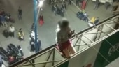 Minor girl climbs atop hoarding in Indore to marry boy against mother's wish