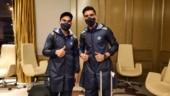 Hum Aapke Raincoat Family: CSK react as Team India leaves for Australia in custom-made PPE kits