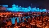 Grand Deepotsav celebrations in Ayodhya, over 6 lakh diyas illuminate holy city