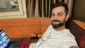 India in Australia: Virat Kohli chills in quarantine with a good series on a comfortable couch
