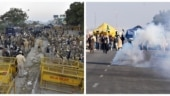 Police use water cannon, tear gas shells as protesting farmers inch closer to Delhi | In pictures and videos