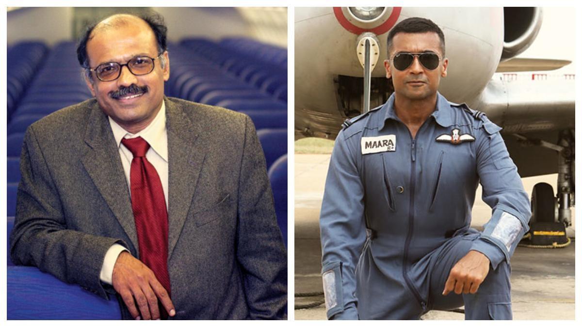 Captain GR Gopinath praises Soorarai Pottru, says it's heavily dramatised,  but captures true essence - Movies News