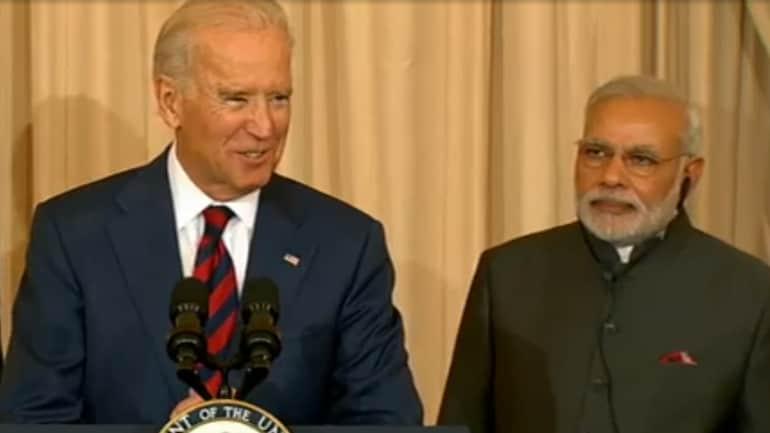 File photo of US President-elect Joe Biden and Prime Minister Narendra Modi