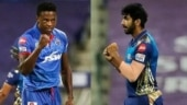 IPL 2020, Finals: DC's Kagiso Rabada and MI's Jasprit Bumrah face-off one last time in battle for Purple Cap