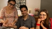 Kajal Aggarwal and Gautam Kitchlu prep for first Karwa Chauth. Don't miss that mehendi