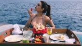 Kajal Aggarwal is still in Maldives vacay mood and dreaming of breakfast in pool