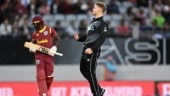 NZ vs WI, 1st T20: Keiron Pollard heroics in vain as New Zealand beat West Indies in rain-hit T20 match