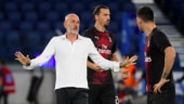 AC Milan coach Stefano Pioli goes into self-isolation after testing positive for coronavirus