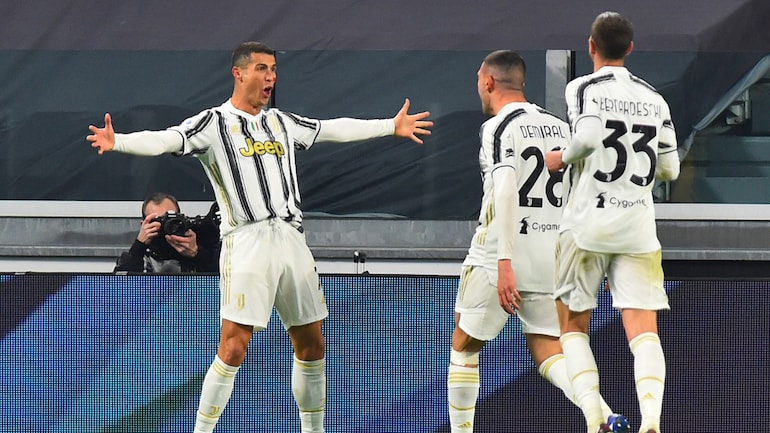 Cristiano Ronald Goes Level With Zlatan Ibrahimovic On 8 Serie A Goals As Juventus Beat Cagliari Sports News