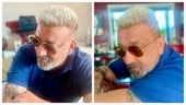 Sanjay Dutt goes blonde ahead of Yash's KGF Chapter 2 shoot. See pics