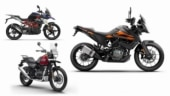 KTM 250 Adventure vs BS6 BMW G 310 GS vs Royal Enfield Himalayan: Spec comparison