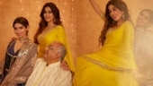 Janhvi Kapoor shares pictures with Khushi and Boney Kapoor from Diwali celebration. Fans say gorgeous
