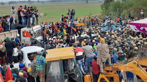 Farmers' protest LIVE: Suspension of metro services to continue till further notice