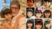 How Aaradhya Bachchan grew up. Amitabh Bachchan tells us on her 9th birthday