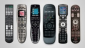 With these universal remotes, you can control your entire home theatre setup