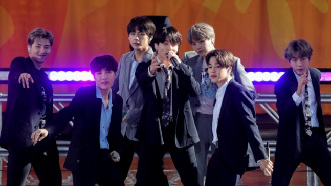 BTS becomes first group to hit No 1 on Billboard 200 after The Beatles