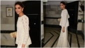 Deepika Padukone, in a white gharara, gives festive vibes ahead of Diwali. See photos