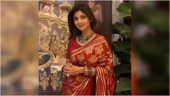 Shilpa Shetty is elegant as ever in Rs 15k saree and blouse for Karwa Chauth
