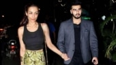 Arjun Kapoor can't stop blushing in new pic. Is Malaika Arora the reason