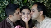 Preity Zinta is grateful she grew up with two brothers, shares adorable pic with them on Bhai Dooj